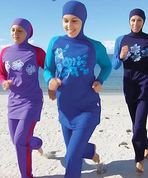 Swimwear for Muslim women OR women who have sensitive skin OR that just prefer to be covered up :)