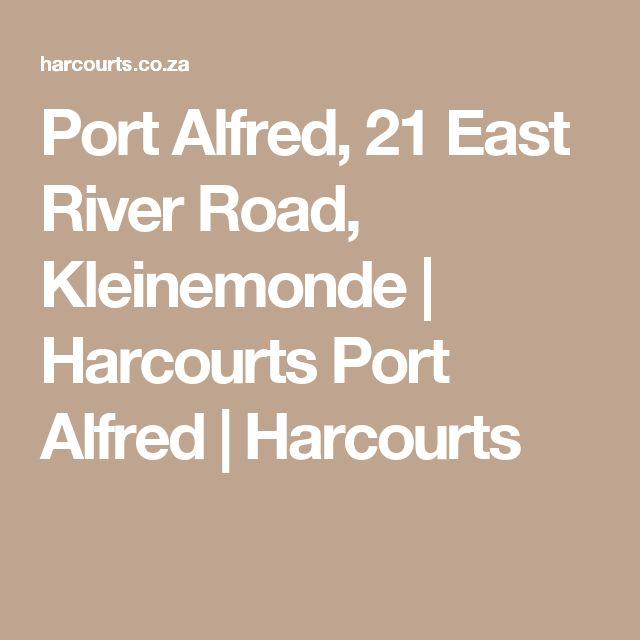 Port Alfred, 21 East River Road, Kleinemonde   Harcourts Port Alfred   Harcourts