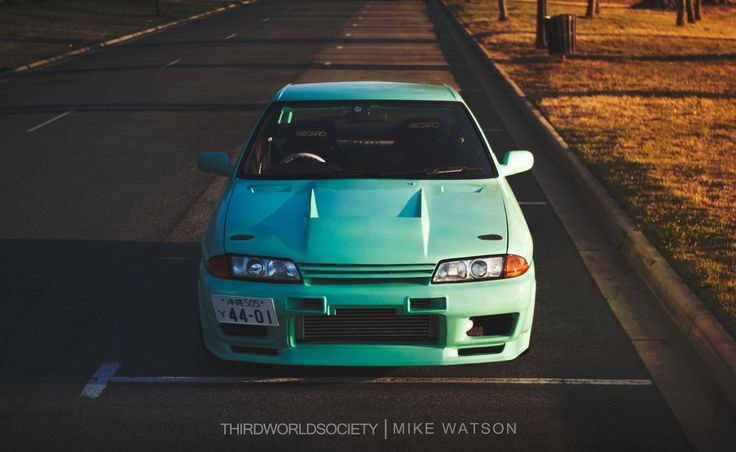 Mint condition 1990 Nissan Skyline GTS-T. Photo: Third World Society, Mike W. | Owner: Bryant H.
