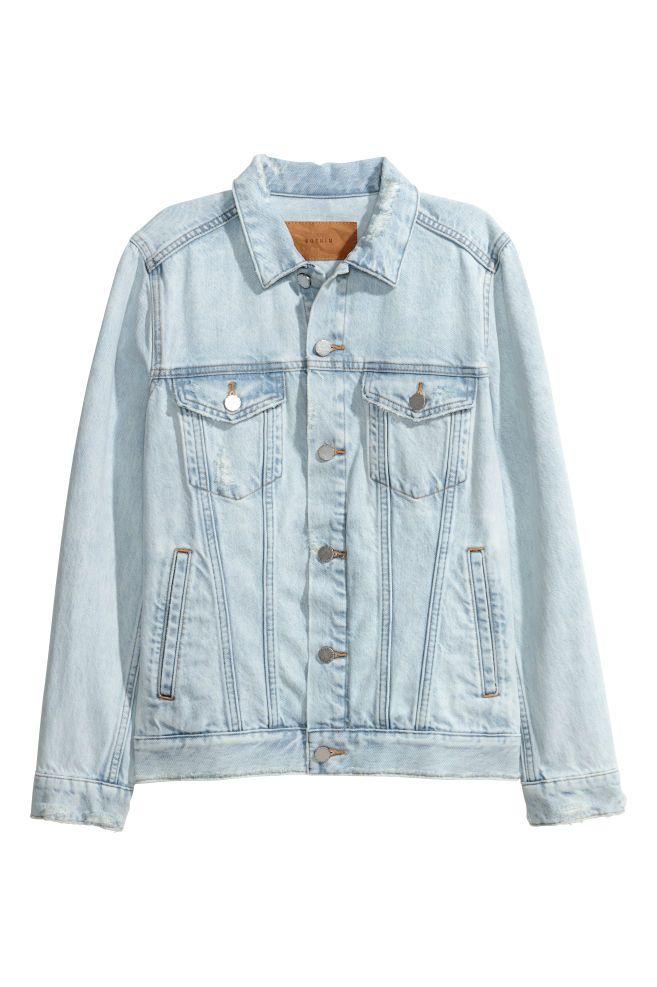 Denim Jacket Light Blue Ladies H M Us H M Denim Jacket Light Denim Jacket Zara Denim Jacket