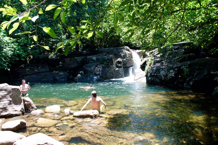 Secret swimming hole, 25min tuk tuk drive from Bentota.