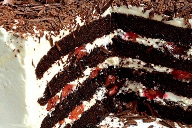 black forest cake never ever lie about cake doesn t call for kirsch ...