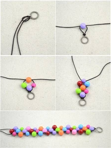 Just buy the DIY accessory that matches the bracelet you want to create, and follow one of these 17 easy-to-make bracelet tutorials in less than 5 years