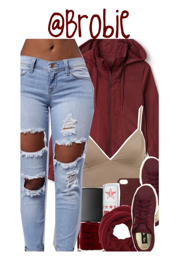 """: 387"" by brobie ❤ liked on Polyvore featuring Lacoste, Scotch & Soda, NARS Cosmetics, Puma, Jeffree Star and Wyatt"