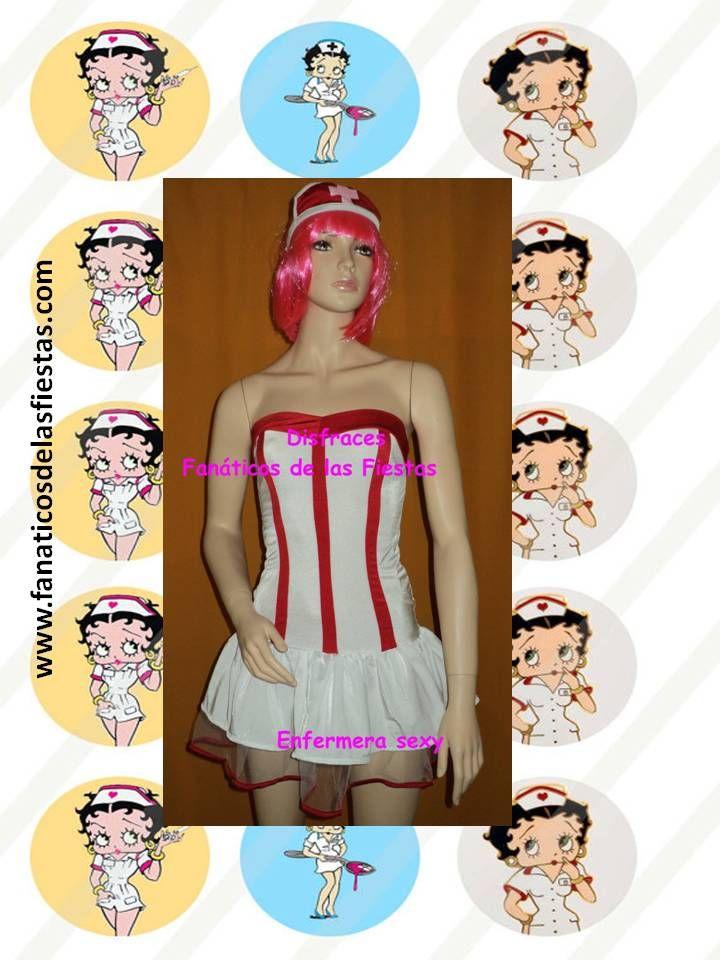 Disfraz de Enfermera sexy , tenemos en tallas S y M  Precio de venta 13.000 pesos , productos nuevos www.fanaticosdelasfiestas.com