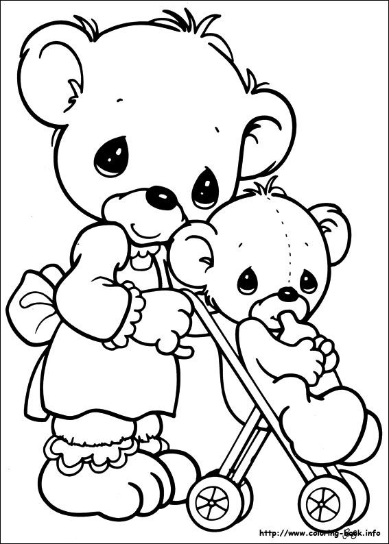 precious moments teddy bear coloring pages - 1070 best images about precious moments on pinterest