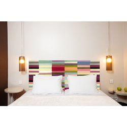 Tête de lit en tissu Berlingot - à fixer au mur sans support en bois MADEMOISELLE TISS