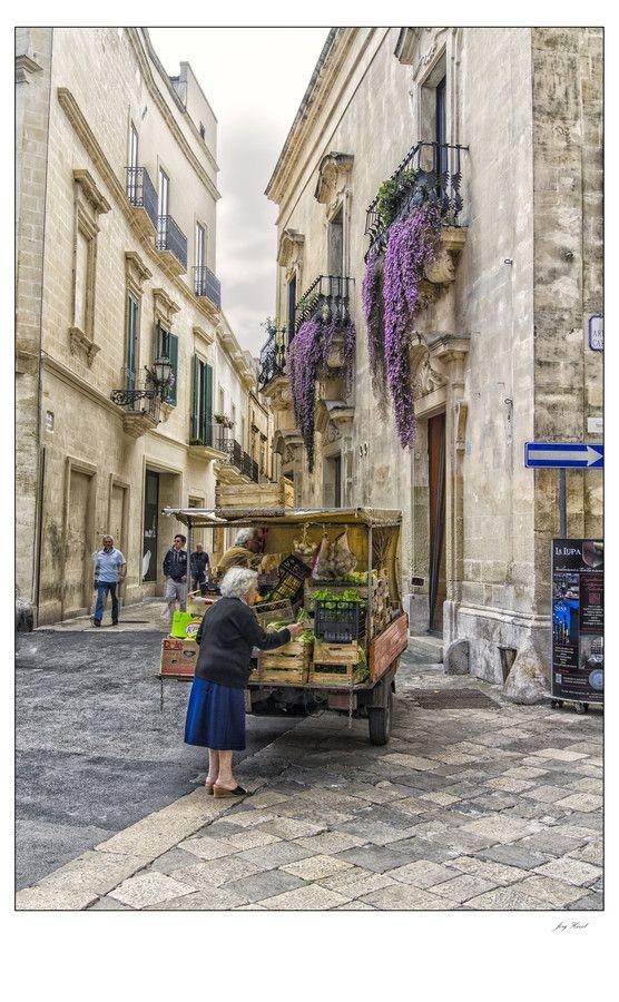 Street in Taranto, Puglia, Italy