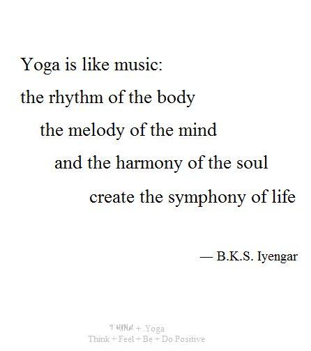 Yoga + symphony of life                                                                                                                                                                                 More