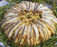 turkish food - türk yemekleri. Hamsi pilavi.
