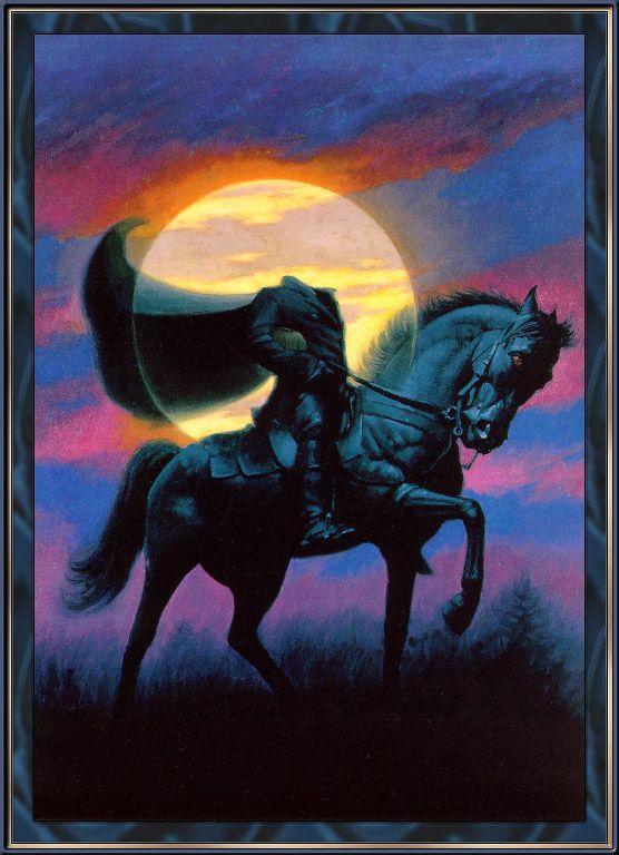 Happy Halloween! Headless Horseman!