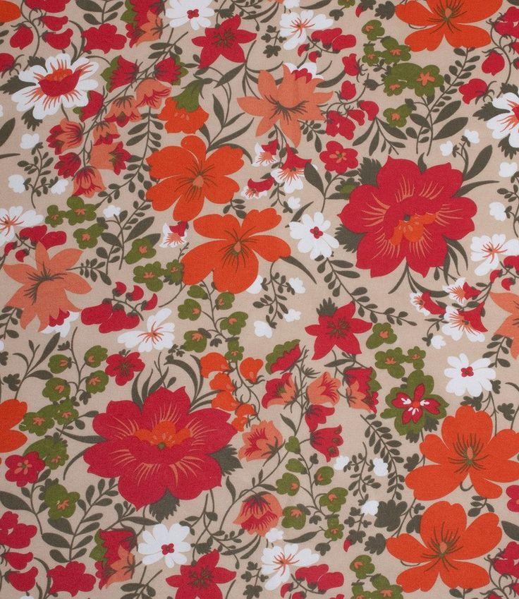Tela provenzal estampado con flores para tapicer a y for Tapiceria y decoracion