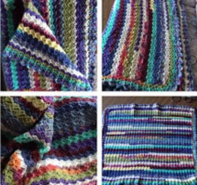 Check out this item in my Etsy shop https://www.etsy.com/ca/listing/568926939/40-striped-colorful-crochet-afghan-lap