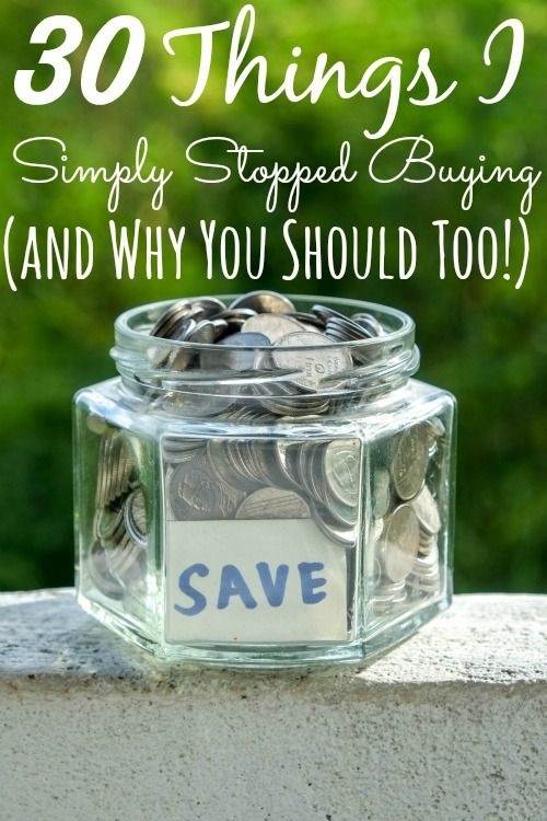 30 Things I Simply Stopped Buying (and Why You Should Too!)