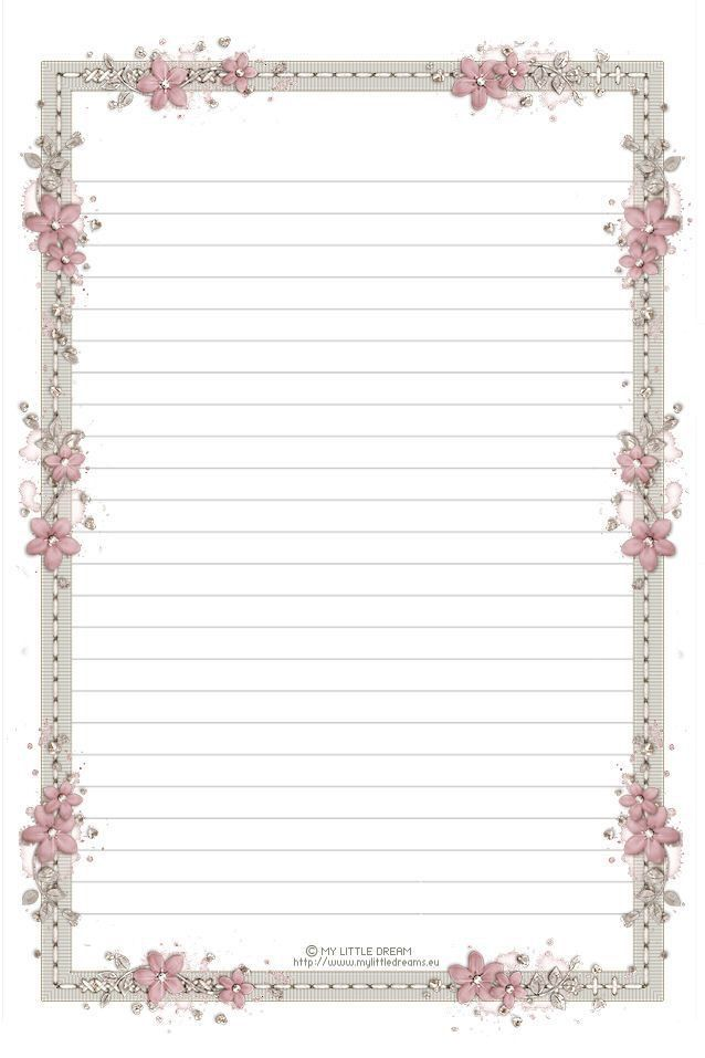 Pin by Carrie Brown on paper | Printable lined paper