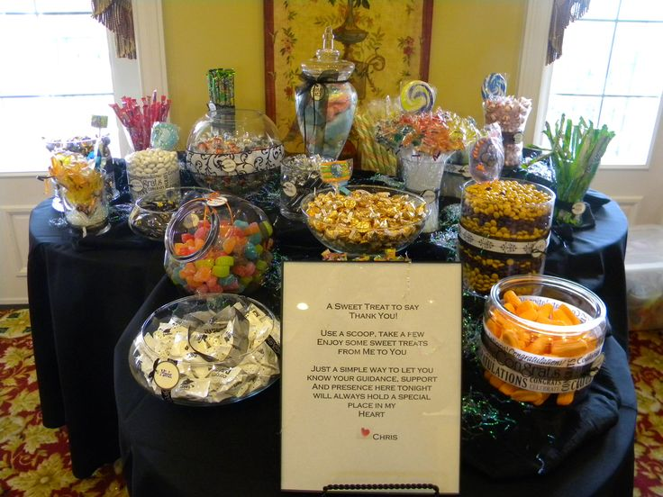 Graduation candy bar food pinterest for Food bar pinterest