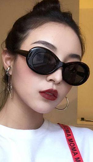 01696b9e95 Fashiontroy Street Style black white round-frame PC sunglasses ...