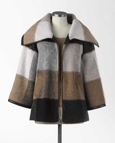 Architectural angles coat - [K14791]