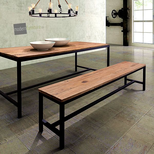 The Colby Bench Has A Simple And Bold Design Distressed Antiqued For That Perfect