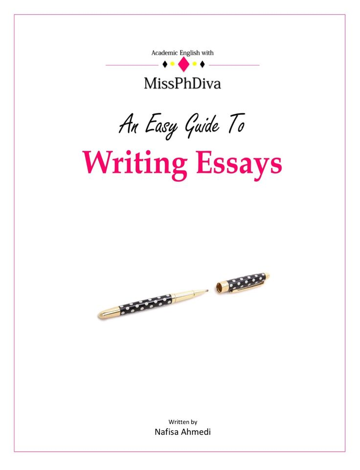 An Easy Guide To Writing Essays - eBook (pdf download)ISBN-13: 978-1530677238An Easy Guide To Writing Essays is written by Nafisa Ahmedi, a lawyer and lecturer in Business, Law and English, for undergraduate and postgraduate students as well as educators and anyone wishing to gain the technical 'know how' to university level writing.This 'how to' guide truly makes academic writing easy with its focus on structure, content and style which are the fundamentals of good academic writing for…