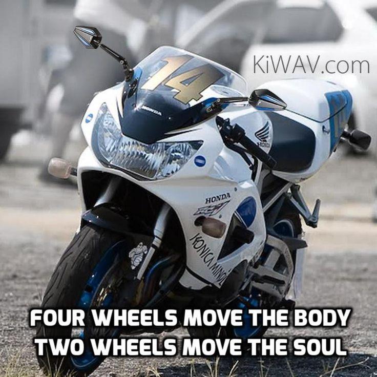 Honda CBR929RR  KiWAV Achilles Motorcycle Mirrors