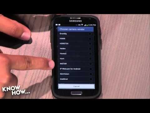 Know How... 57: Turn Your Android into a Spy Cam - YouTube