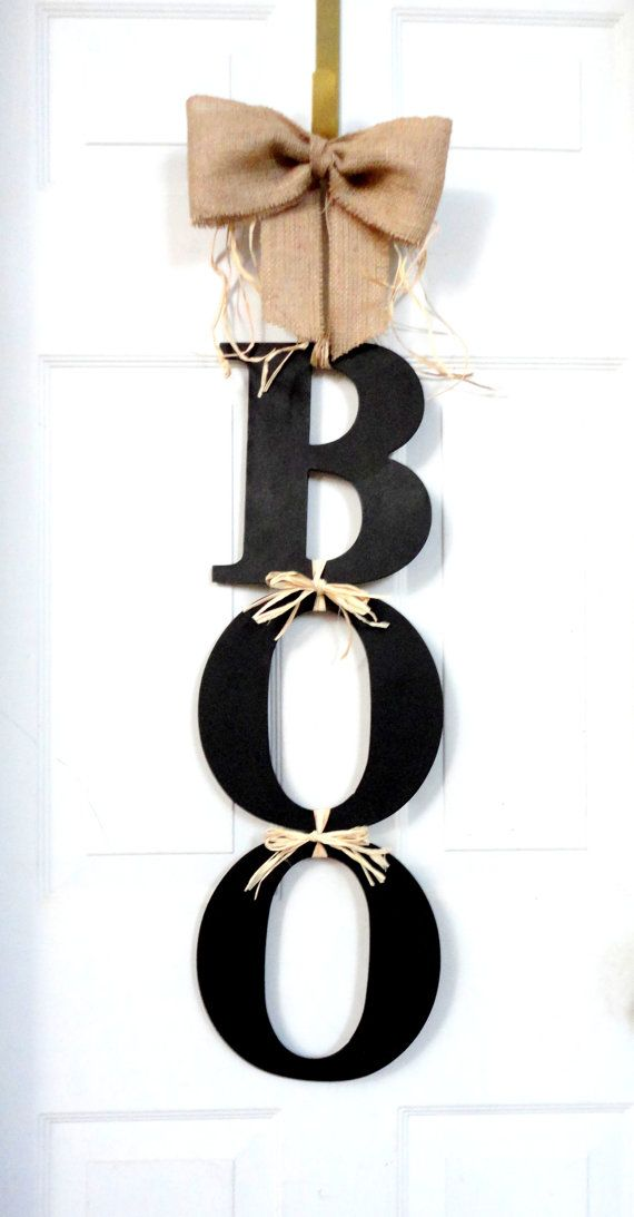BOO  Halloween Wreath  Fall wreath  Deco Mesh by SparkleWithStyle, $55.00
