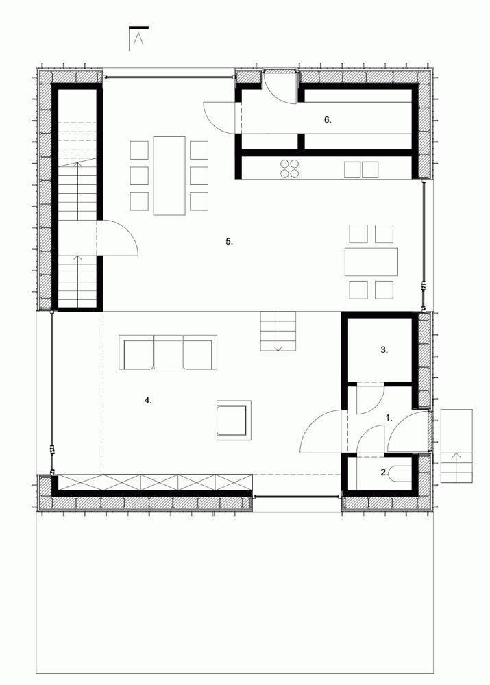 524 best arq planos y secciones images on pinterest for Small zero energy house plans