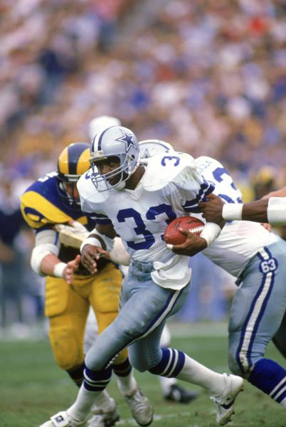 Tony Dorsett (RB) Cowboys - First Year: 1977 - 11 seasons - Drafted: Round 1, Pick 2