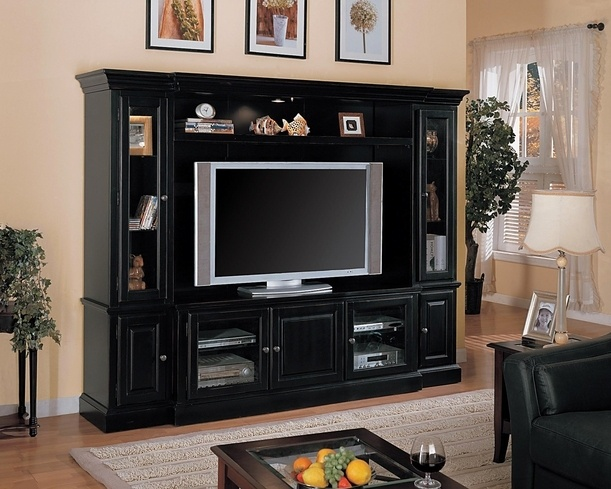 Black Entertainment Center Wall Unit 25 best entertainment || multi-piece wall units images on