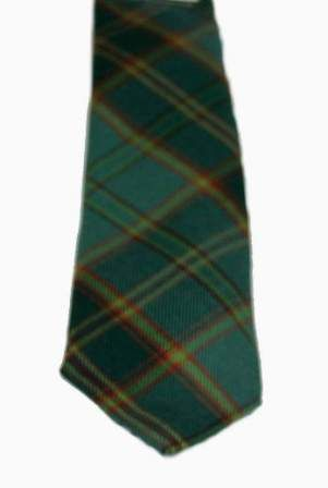 For Conor All Ireland Green Irish Tartan Tie