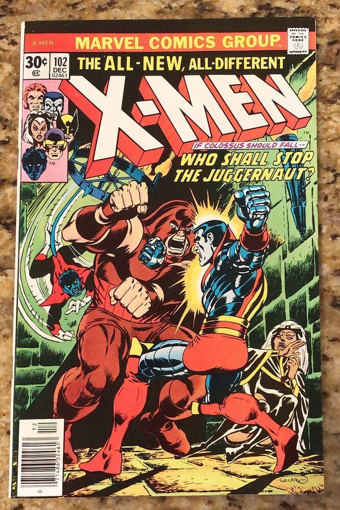 X Men 102 12 76 Origin Storm Who Shall Stop The Juggernaut Ebay Superman Comic Books Superman Comic Captain America Comic Books
