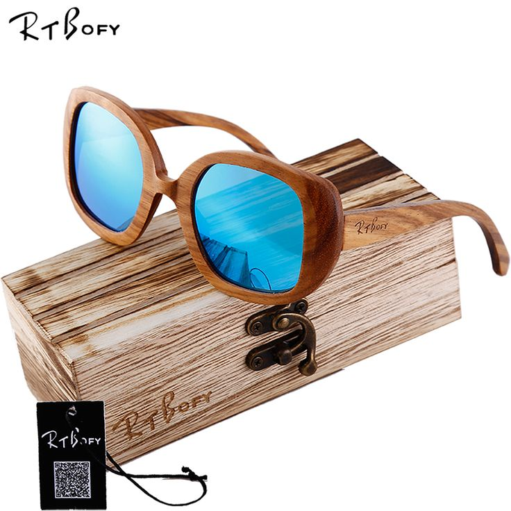 round frame bamboo wooden sunglass 2016 fashion wooden sunglasses men women sun glasses ba