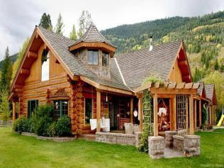 13 rustic log cabin homes design ideas