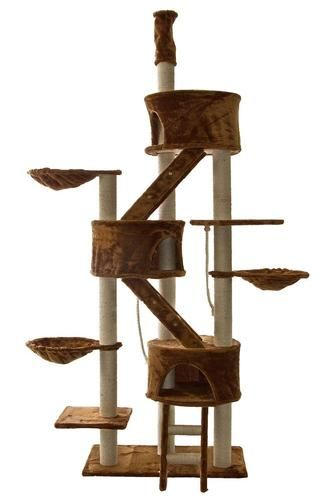 $129 Cat Tree House Toy Bed Scratcher Post Furniture FC09 | EBay