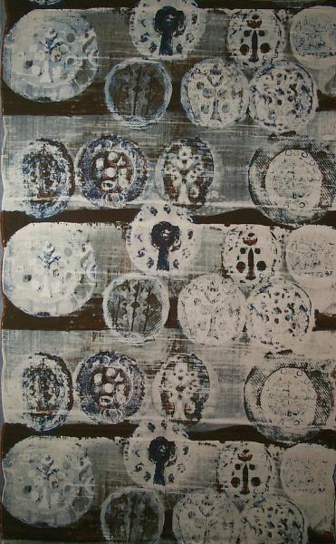 Paapje fabric, collection Textielmuseum Tilburg