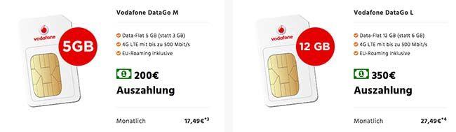 Vodafone Data GO M & L mit bis zu 350€ Auszahlung http://www.simdealz.de/datentarif/vodafone-data-go-l-mit-auszahlung/