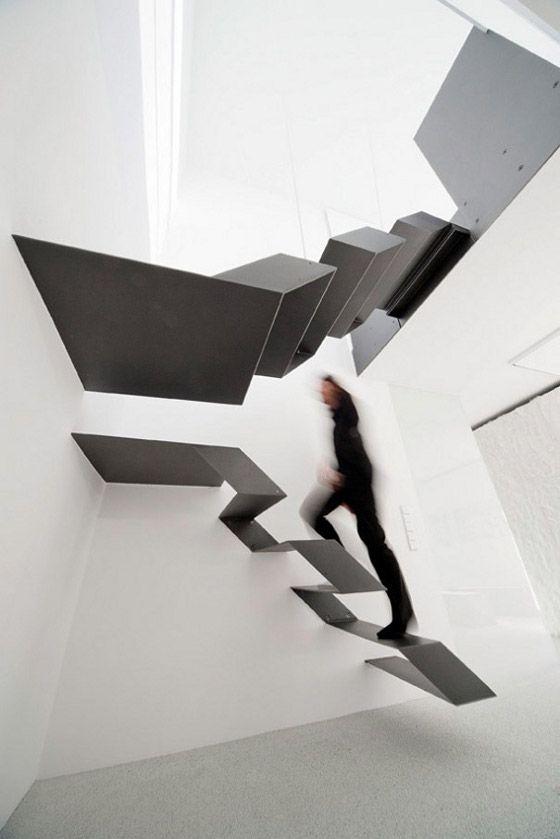 タイルパーク | 海外のユニークな階段デザイン