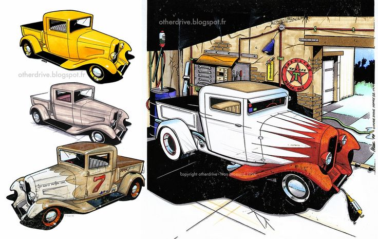17 Best Images About Hot Rod Art On Pinterest Chevy