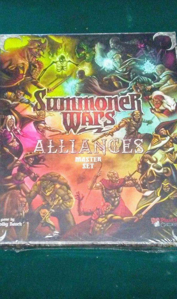 Summoner Wars Alliances Master Set Card Game    eBay