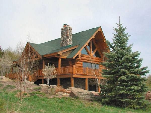 Beautiful Log Cabin Home The Ocean And Mountains Pinterest