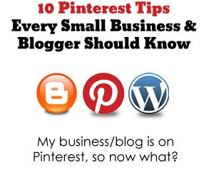10 #Pinterest tips for #blogging