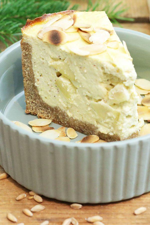 Zuckerfreier Apfel Kasekuchen Der Clean Eating Cheesecake Ohne