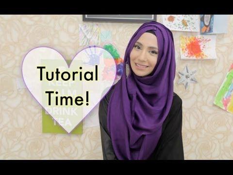 PURPLE PEAK HOOJAB TUTORIAL! | Amenakin
