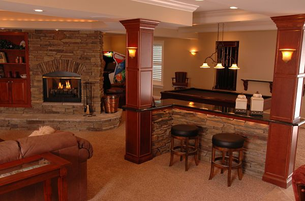 5 practical ideas for remodeling or adding a family room - Basement family room ideas ...