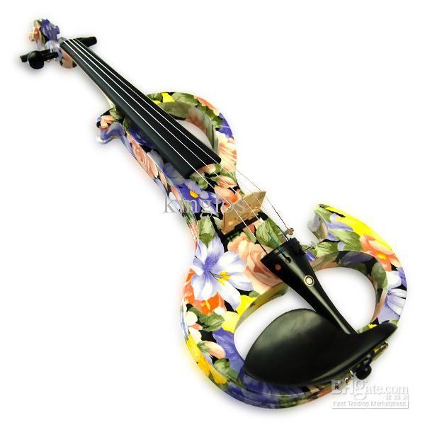 Wholesale Intermediate Electric Violin Color Violin Kinglos