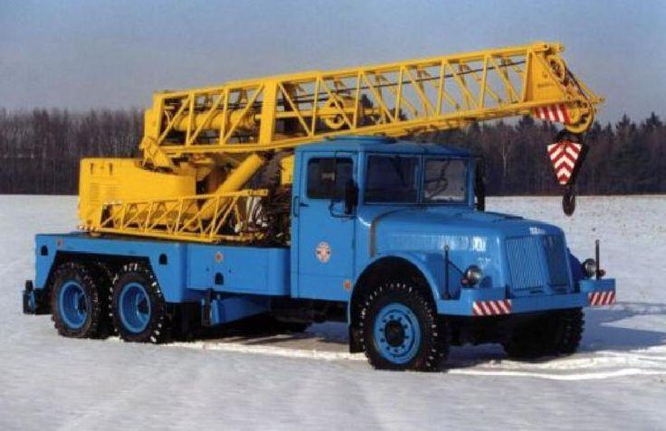 Tatra T111 crane truck