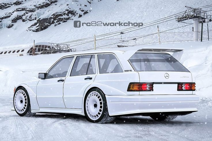 Mercedes 190 Evo Kombi - Photoshop