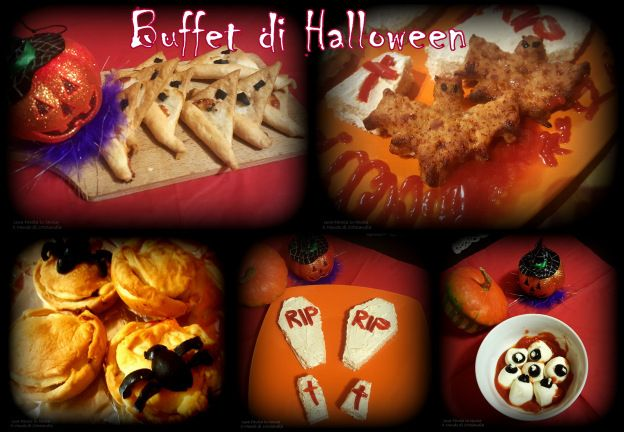 Buffet di Halloween: idee carine da preparare con i vostri bimbi