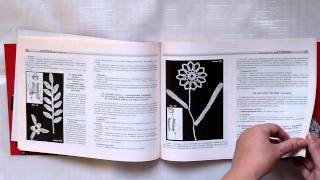 YouTube video preview of a Russian book on romanian lace, cutwork lace, tatting (frivolite) big book at duplet-crochet.com